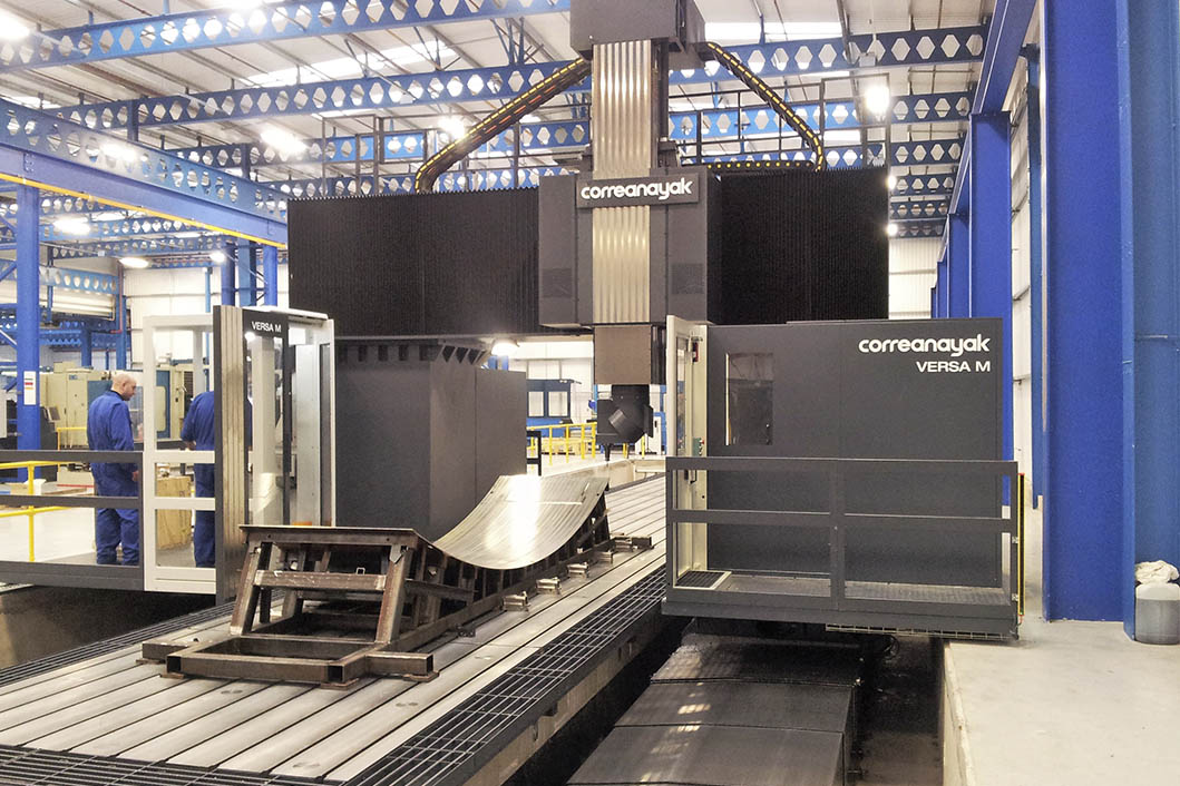 Mecanizado de moldes de fibra de carbono