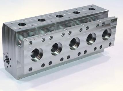 Mecanizado de Distribuidor de fluidos