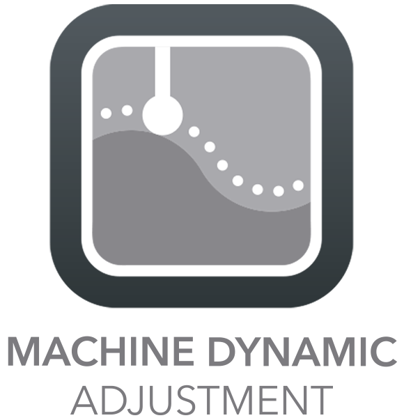 High Capacity of machining shapes