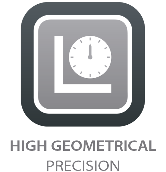 High Geometrical Precision