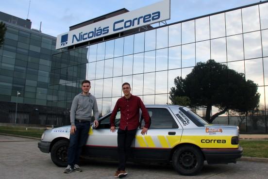 El Grupo Correa colabora con el Uniraid 2020