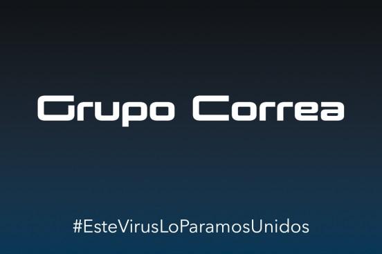 El Grupo Correa entrega material de protección para los profesionales sanitarios