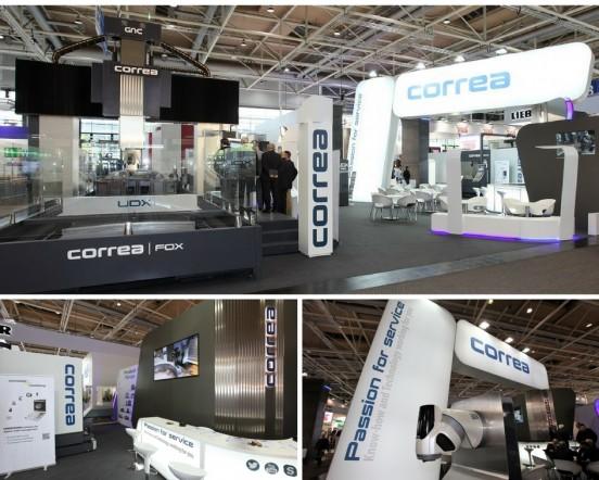 Nicolas Correa International Exhibitions Machine Tool Sector